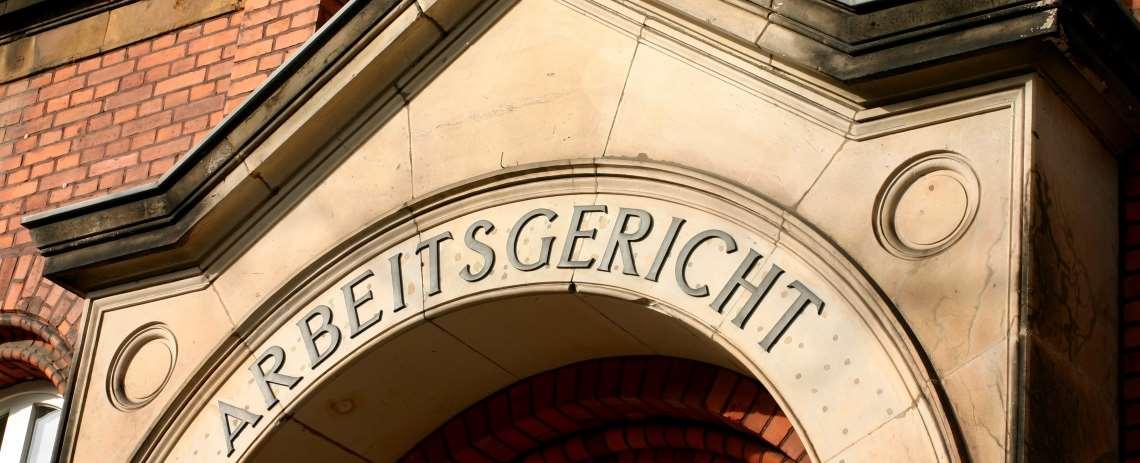 Arbeitsgericht - Arbeitsrecht - Kanzlei Dr. Ahlborn Bielefeld